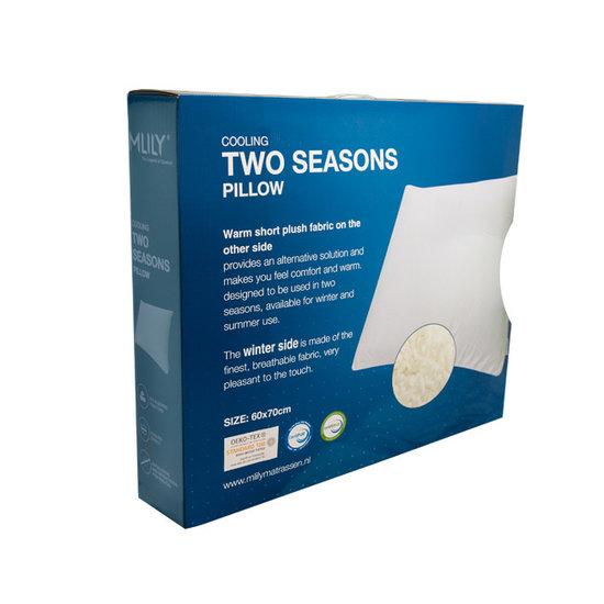 Mlily Two seasons hoofdkussen